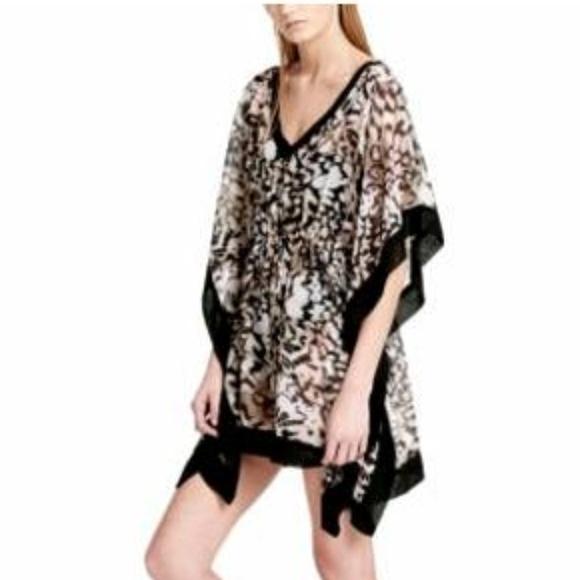 2981dc345c17e Calvin Klein Swim | Leopard Drawstring Cover Up Lxl | Poshmark